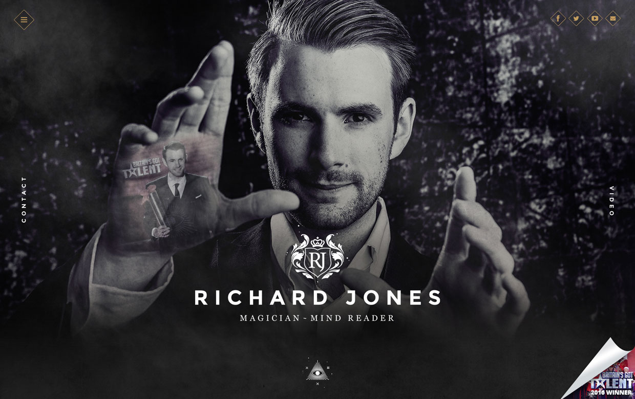richard jones magic website